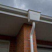 raintwater head installation