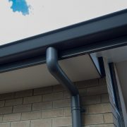 downspout installation