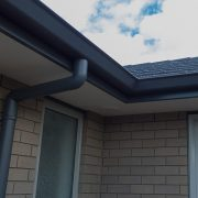 gutter installation and downspouts
