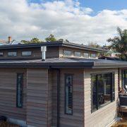 custom gutters on new home