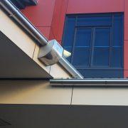rainwater head installation