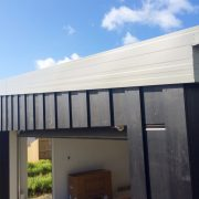 custom fascia systems on new home